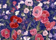 Poppies & Sweet Peas Collection