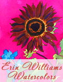 I follow Erin Williams Watercolors